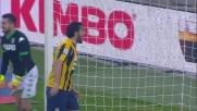 Il goal di Toni salva il Verona contro il Sassuolo