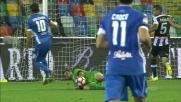 L'Udinese ringrazia Karnezis per la parata su Saponara
