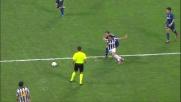 Quagliarella supera Stankovic con un tunnel in Inter-Juventus