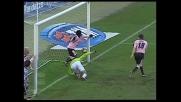 Doppietta di Simplicio che di testa segna il goal della rimonta sull'Udinese al Barbera