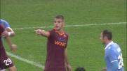 Pjanic sorprende Marchetti e segna un goal da punizione all'Olimpico