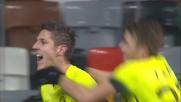 Domizzi maldestro, Jovetic non perdona e realizza il goal del 2-0 per l'Inter