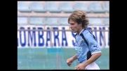 Nedved colpisce la traversa dal limite dell'area contro la Fiorentina