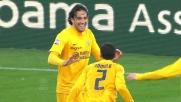 Un goal alla Toni contro l'Udinese