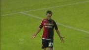 Il tris del Cagliari contro il Siena arriva con il goal di Sau