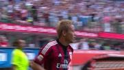 Milan-Lazio: contropiede finalizzato con un goal da Honda