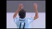 Mauri segna il goal del momentaneo pareggio contro il Milan