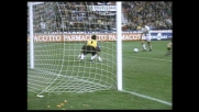 Baggio mette la sua firma nel derby segnando il goal della bandiera per il Milan