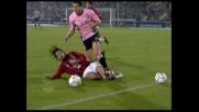 Gattuso entra in ritardo su Zauli e commette fallo