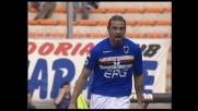Rossini incorna il pallone del goal al Livorno