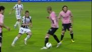 Torje segna il goal del definitivo pareggio al Barbera