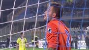Viviano si oppone al tiro di Caprari: il Pescara non passa