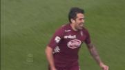 Santana e la fortuna portano in vantaggio il Torino