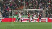 Traversa di ginocchio per Rigoni contro il Genoa