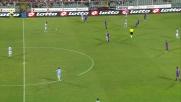 Blasi espulso in Fiorentina-Napoli per un tackle avventato