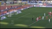 Gillet respinge il rigore di Kolarov in Lazio-Bari