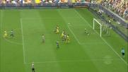 Brutta caduta per Karnezis in Udinese-Chievo