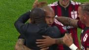 De Jong da punizione segna il goal del raddoppio del Milan