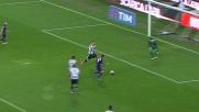 Heurtaux in tackle anticipa Bernardeschi e protegge il successo dell'Udinese