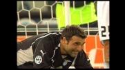 Una papera di Peruzzi regala un goal al Siena
