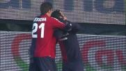 Il Cagliari passa in vantaggio a Parma grazie al goal di Sau