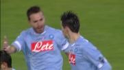 Goal della bandiera di Hamsik con un gran tiro da fuori area in Udinese-Napoli