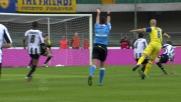 Bradley esplode il destro, l'Udinese si salva grazie al palo