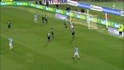 La Lazio sfiora il goal con un colpo di testa di Parolo contro il Sassuolo