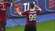 Cassano porta in vantaggio il Milan a Siena con un goal di rapina