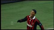 Ronaldinho letale anche di testa: tris del Milan sul Siena