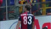 Genoa-Lecce 4 a 2: Floro Flores segna il quarto goal