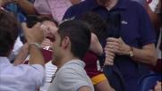 Goal e dedica speciale per Florenzi contro il Cagliari