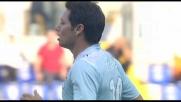 Il goal al volo di sinistro di Zarate fa impazzire lo stadio Olimpico