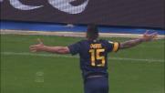 Goal direttamente da calcio piazzato per Iturbe contro il Livorno