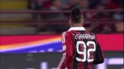 El Shaarawy, per il goal del poker del Milan contro il Chievo
