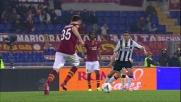 Torosidis segna il goal del 3-1 nella sfida tra Roma e Udinese