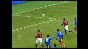Il Milan batte il Lecce con un goal di Inzaghi