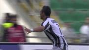 Il goal di Sanchez vale il raddoppio momentaneo dell'Udinese sul Palermo