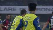 Castro di testa sfiora il goal contro il Cagliari