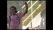Cavani apre i giochi al Barbera. Suo il goal dell'1-0 del Palermo contro il Genoa