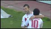 Il goal di Meggiorini sblocca il match contro l'Udinese al San Nicola