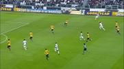 Gollini respinge la conclusione di Marchisio in Juventus-Verona