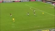 Retropassaggio rischioso per Zambrotta nel match tra Milan e Lazio