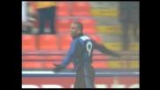 L'Inter segna il terzo goal con Ronaldo contro il Verona