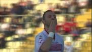Con una splendida rovesciata Di Gaudio realizza il goal del pareggio tra Carpi e Genoa