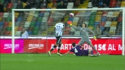 Thereau firma il goal che vale la vittoria dell'Udinese sulla Fiorentina