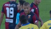 De Maio stende in tackle Dionisi e lascia in dieci il Genoa!