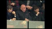 Seedorf  segna il goal del pareggio del Milan sul Bologna
