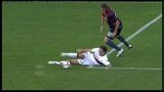 Biava arpiona il pallone e vince il duello con Matri