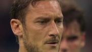 Totti da calcio di rigore batte Diego Lopez e la Roma accorcia le distanze
